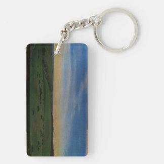 Seachange - Hallett Cove Double-Sided Rectangular Acrylic Keychain