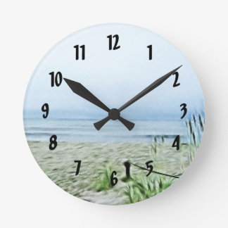 Seacoast Fractilus Round Clock
