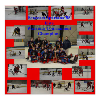 Seacoast Spartans 98 Elite Poster