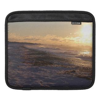 Seacoast Winter Dawn iPad Sleeve