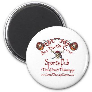 SeaDawgs Cove Sports Pub 2 Inch Round Magnet
