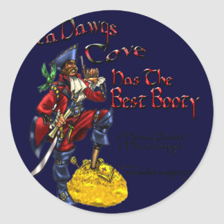 SeaDawgsCove Sports Pub Classic Round Sticker