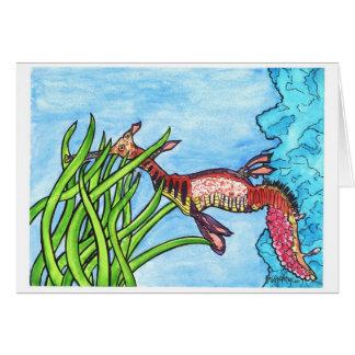 Seadragon by Sally Stevens Card