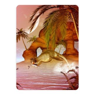Seadragon with marlin, hunter and hunted card
