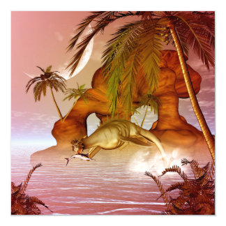 Seadragon with marlin, hunter and hunted magnetic card