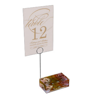 Seadragon with marlin table number holder