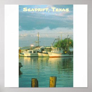 Seadrift Harbor Poster