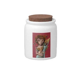 Seaflower Candy Jars
