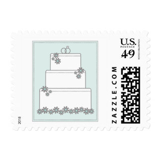 Seafoam Blooms Stamps