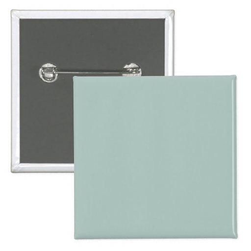 Seafoam Blue Sea Foam Green Color Trend Template Pinback Buttons