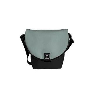 Seafoam Blue Sea Foam Green Color Trend Template Courier Bag