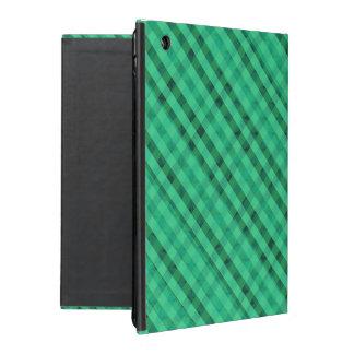 Seafoam Green Plaid - Custom iPad 2/3/4 Case iPad Covers