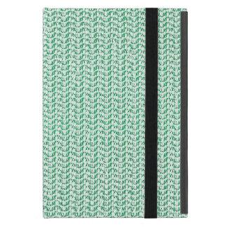 Seafoam Green Weave Mesh Look Cover For iPad Mini