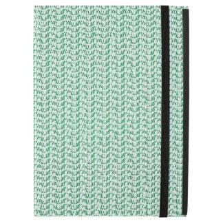 Seafoam Green Weave Mesh Look iPad Pro Case