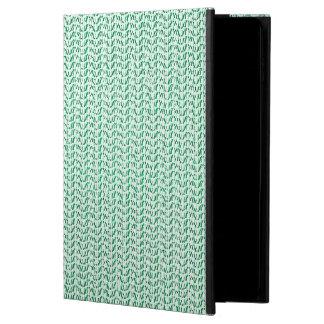 Seafoam Green Weave Mesh Look Powis iPad Air 2 Case