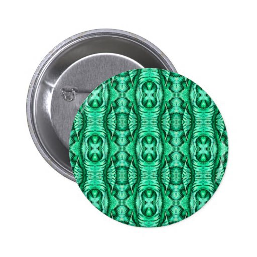 Seafoam Mint Green Dragon Lizard Reptile Scales Pinback Buttons