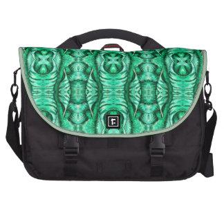 Seafoam Mint Green Dragon Lizard Reptile Scales Bag For Laptop