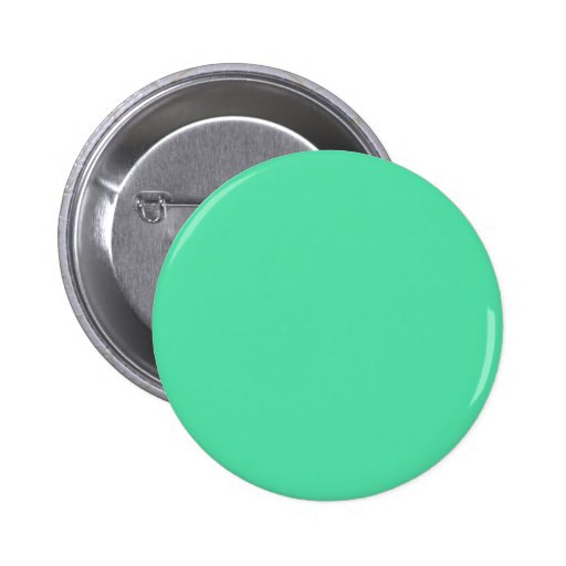 Seafoam rectangular image pinback button