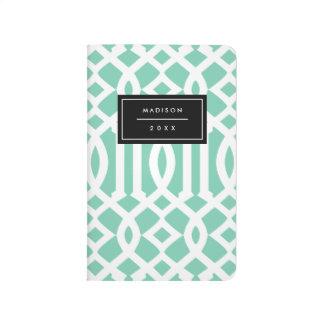 Seafoam Trellis | Pocket Journal