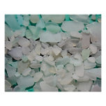 Seafom blanco Seaglass Impresiones