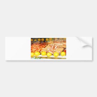 Seafood Bumper Sticker