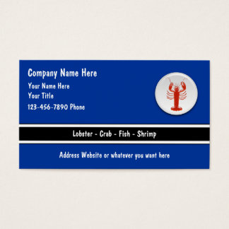 Seafood Business Cards
