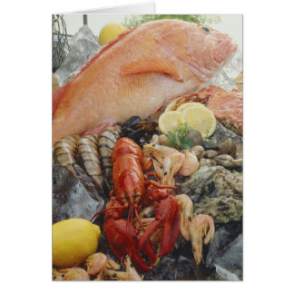 Seafood Card