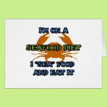 Seafood Diet Card
