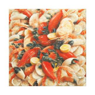Seafood Extravaganza 2010 Canvas Print