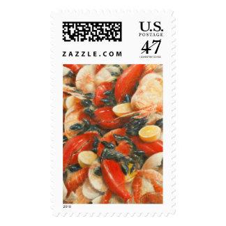 Seafood Extravaganza 2010 Postage Stamp
