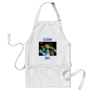 SeaFood Grill-Cooking Apron