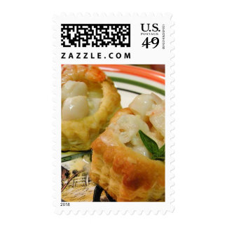 Seafood In Pastry Stamp