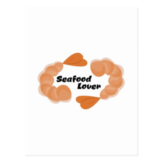 Seafood Lover Post Card