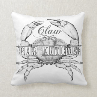 Seafood Lovers Cottage style pillow