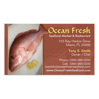 Seafood Market Business Card