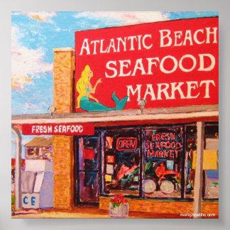 Seafood Market Print