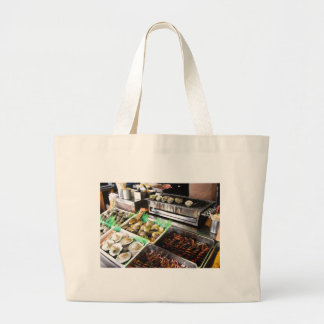 Seafood on Enoshima Island, Japan. Bag