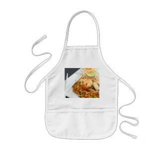 Seafood Pad Thai Fried Rice Noodles Kids' Apron