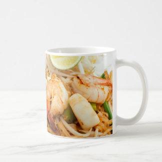 Seafood Pad Thai Fried Rice Noodles Mug