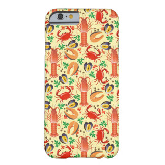 Seafood Pattern Barely There iPhone 6 Case