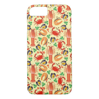 Seafood Pattern iPhone 8/7 Case