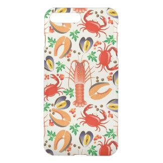 Seafood Pattern iPhone 8 Plus/7 Plus Case