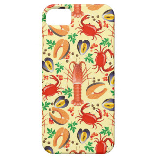 Seafood Pattern iPhone SE/5/5s Case