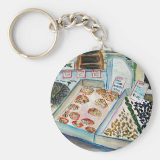 Seafood Sale Keychain (Pike Place Seattle)