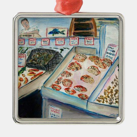 Seafood Sale Ornament (Pike Place - Seattle, WA)