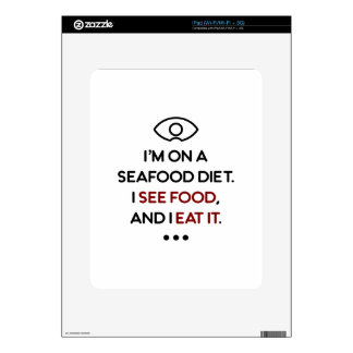 Seafood See Food Eat It Diet Skin For The iPad