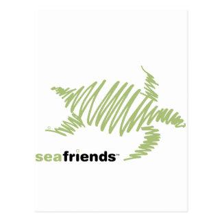 SeaFriends Turtle Postcard