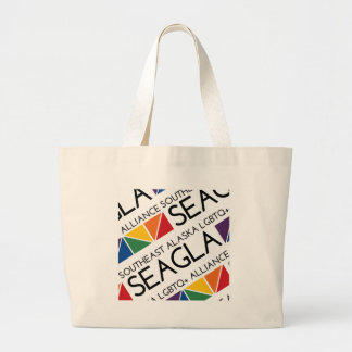 SEAGLA ajustó el logotipo Bolsa Tela Grande