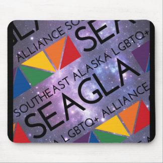 SEAGLA Space Logo Mouse Pad