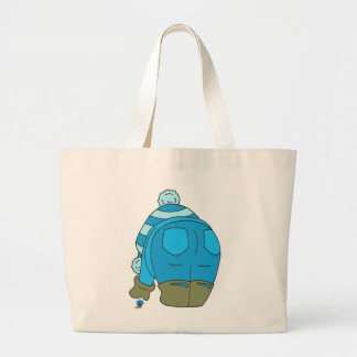 Seaglass as a work of Art Large Tote Bag